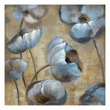 Flowers in Dusk Posters por Silvia Vassileva