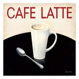 Cafe Moderne I Giclée-Premiumdruck von Marco Fabiano