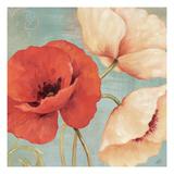 Rouge and Blanc II Affiches par Daphne Brissonnet