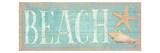 Pastel Beach Premium Giclee-trykk av Daphne Brissonnet