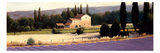 Lavender Fields Panel II Reproduction giclée Premium par James Wiens