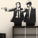 Pulp Fiction Wandtattoo