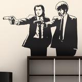 Pulp Fiction (sticker murale) Decalcomania da muro