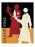 Grand Vins Prints by Hugo Wild