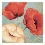 Rouge and Blanc I Affiche par Daphne Brissonnet