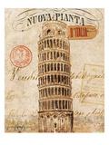 Letter from Pisa Reproduction giclée Premium par Hugo Wild