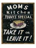 Mom's Kitchen Premium Giclee Print by  Pela