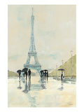 April in Paris Poster von Avery Tillmon