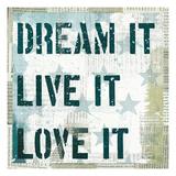 American Dream II Poster di Mo Mullan