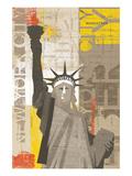 Liberty Poster by Mo Mullan