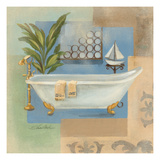 Coastal Bathtub I Kunstdrucke von Silvia Vassileva