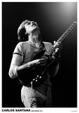 Carlos Santana Amsterdam 1972 Poster