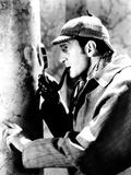 The Adventures of Sherlock Holmes, Basil Rathbone as Sherlock Holmes, 1939 Foto
