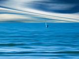 Wind Surfing Fotografisk trykk av Josh Adamski