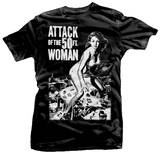 Attack of the 50 Foot Woman T-skjorter