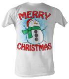 Snow Man - Merry Christmas T-Shirts