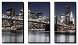 Manhattan Reflections Art by Jorge Llovett