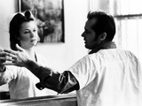 One Flew Over the Cuckoo's Nest, Louise Fletcher, Jack Nicholson, 1975 Foto