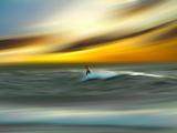 Man Aginst Nature Fotografisk trykk av Josh Adamski
