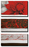 Sumptuous Red Posters by Jasmin Zara Copley
