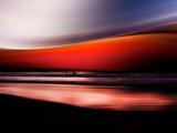 Red Wave Photographic Print by Josh Adamski