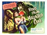 Beast From Haunted Cave, Sheila Carol, (Lobbycard), 1960 Fotografia