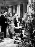 Miracle on 34Th Street, John Payne, Maureen O'Hara, Natalie Wood, Edmund Gwenn, 1947 Foto