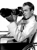 Rear Window, James Stewart, 1954 Photo