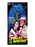 Creature from the Black Lagoon, (aka La Mujer Y El Monstruo), Julie Adams, Richard Carlson, 1954 Foto