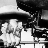 The Outlaw Josey Wales, Actor-Director Clint Eastwood, on Set, 1976 Foto