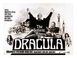 The Satanic Rites of Dracula, Christopher Lee, Peter Cushing, 1973 Photo