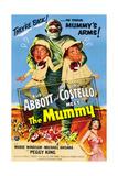 Abbott And Costello Meet the Mummy (aka Abbott & Costello Meet the Mummy), 1955 Plakater