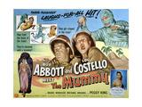 Abbott And Costello Meet the Mummy, Lou Costello, Bud Abbott, 1955 Posters