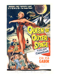 Queen of Outer Space, Zsa Zsa Gabor, 1958 Photographie