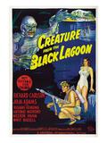 Creature from the Black Lagoon, Richard Carlson, Julie Adams, 1954 Fotografia