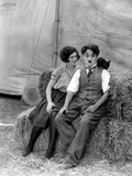 The Circus, Merna Kennedy And Charlie Chaplin, 1928 Fotografia