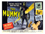 The Mummy, Christopher Lee, Yvonne Furneaux, 1959 Photo