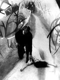O Gabinete do Doutor Caligari, Conrad Veidt, Lil Dagover, 1920 Fotografia