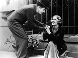 City Lights, Charlie Chaplin, Virginia Cherrill, 1931 Fotografía