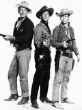Rio Bravo, John Wayne, Dean Martin, Ricky Nelson, 1959 Photo