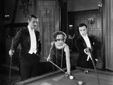 Sherlock Jr., Ward Crane, Kathryn McGuire, Buster Keaton, 1924 Photo