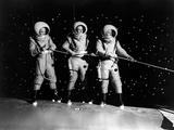 Destination Moon, Dick Wesson, John Archer, Warner Anderson, 1950 写真