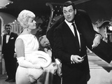 Pillow Talk, Doris Day, Nick Adams, Rock Hudson, 1959 Photo