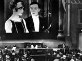 Sherlock Jr., Kathryn McGuire, Buster Keaton, 1924, Movie Theater Photo