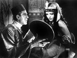 The Mummy, Boris Karloff, Zita Johann, 1932 Fotografia