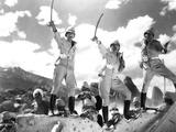 Gunga Din, Cary Grant, Victor McLaglen, Douglas Fairbanks Jr., 1939 Photo