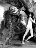 The Creature From The Black Lagoon, Ben Chapman, Julie Adams, 1954 Photo