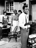 A Raisin In The Sun, Ruby Dee, Claudia McNeil, Diana Sands, Sidney Poitier, 1961 Photo