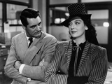 His Girl Friday, Cary Grant, Rosalind Russell, 1940 Photo