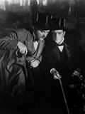 The Adventures Of Sherlock Holmes, Nigel Bruce, Basil Rathbone, 1939 Foto